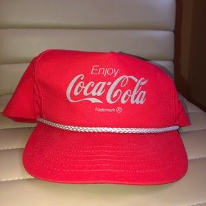 Vintage coke hat